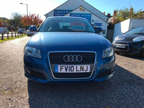 Audi A3 2010 Front View