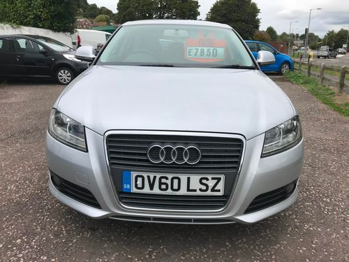 Audi A3 2010 Silver Front View